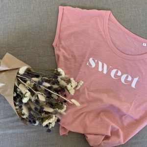 tshirt-rose-tendre-coton-bio-sweet-elo-le